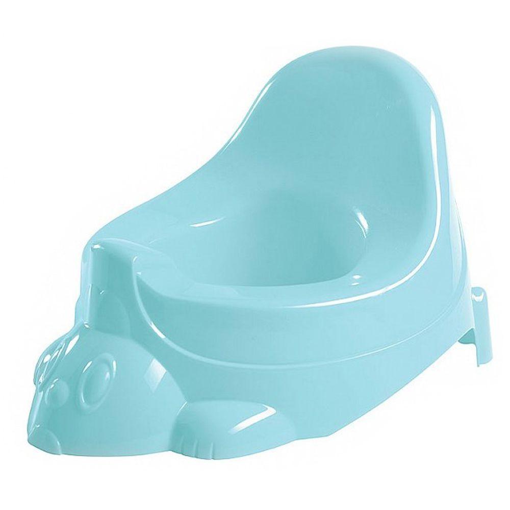 Детский горшок-игрушка Бытпласт Пластишка Голубой