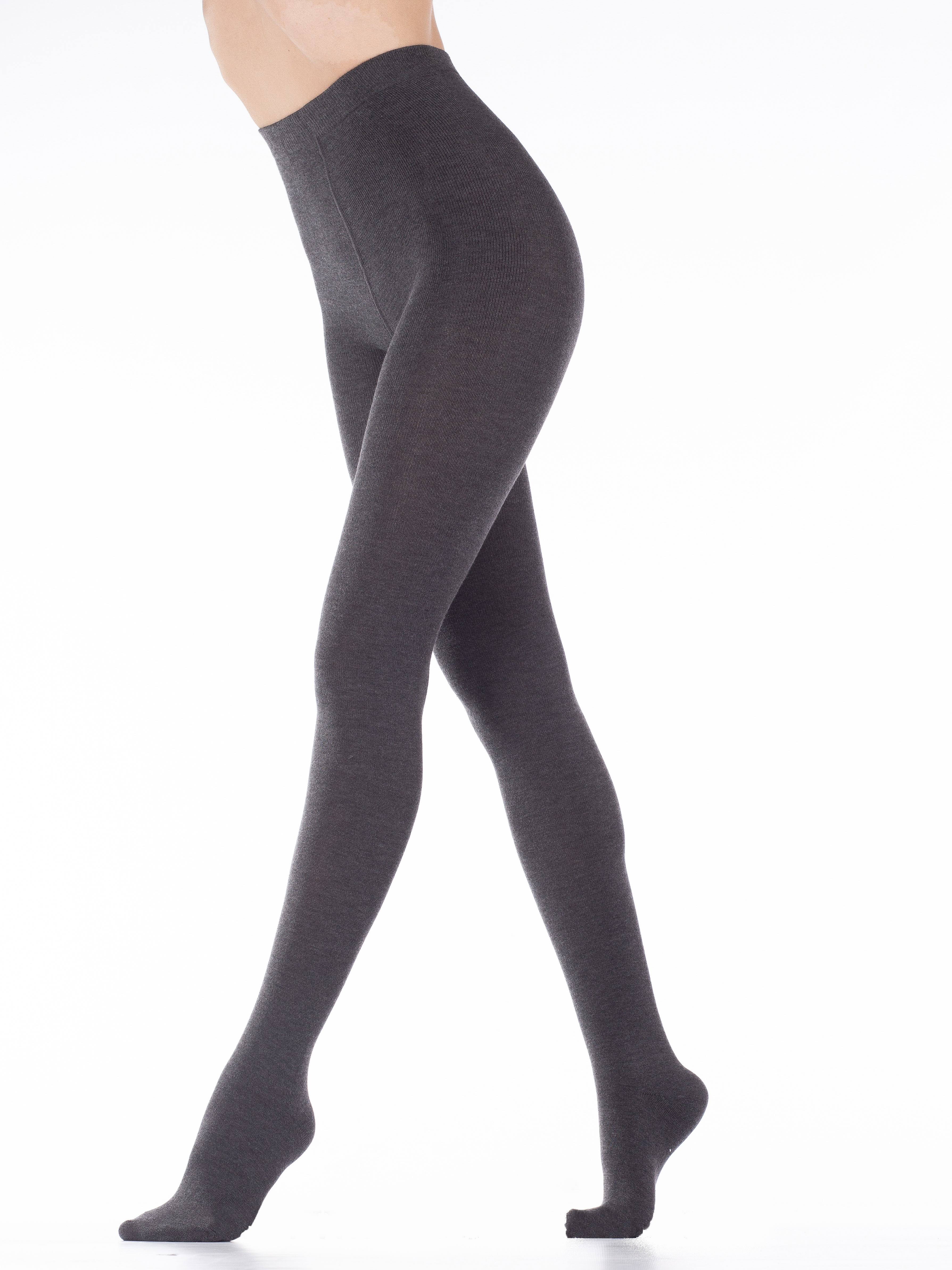 Колготки женские MiNiMi NOVITA 380 серые 4 (L) фото