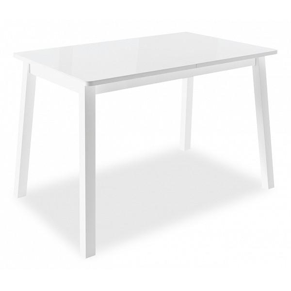 Кухонный стол Leset Стол обеденный Морон 100-140х70х74 см белый фото