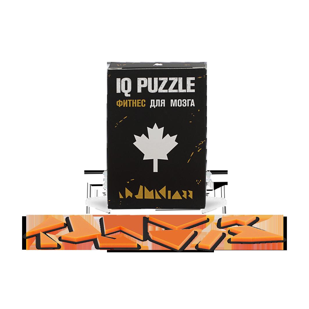 Пазл IQ Puzzle Кленовый лист фото