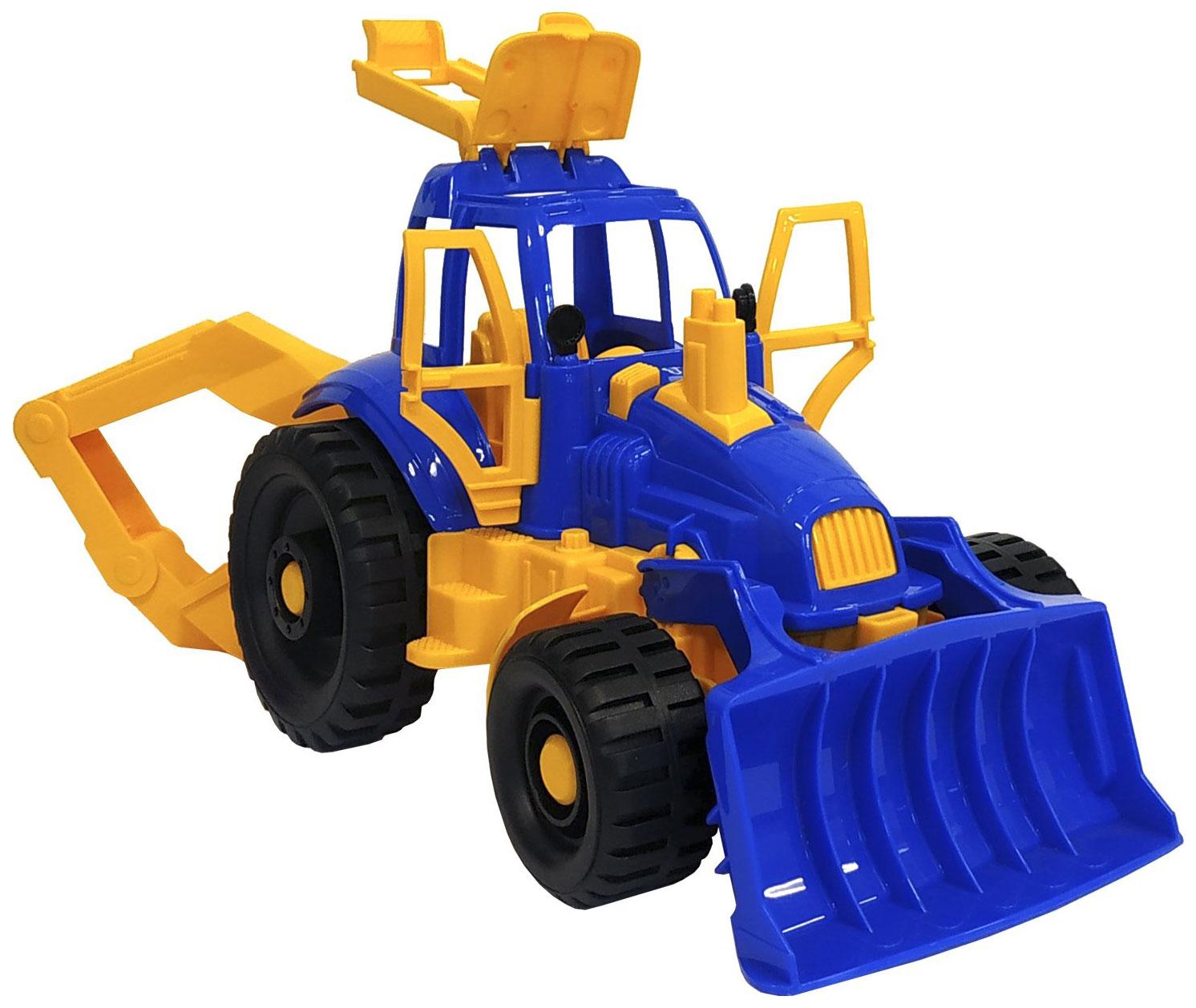 Купить Трактор Нордпласт С ковшом и грейдером 400H, НОРДПЛАСТ,