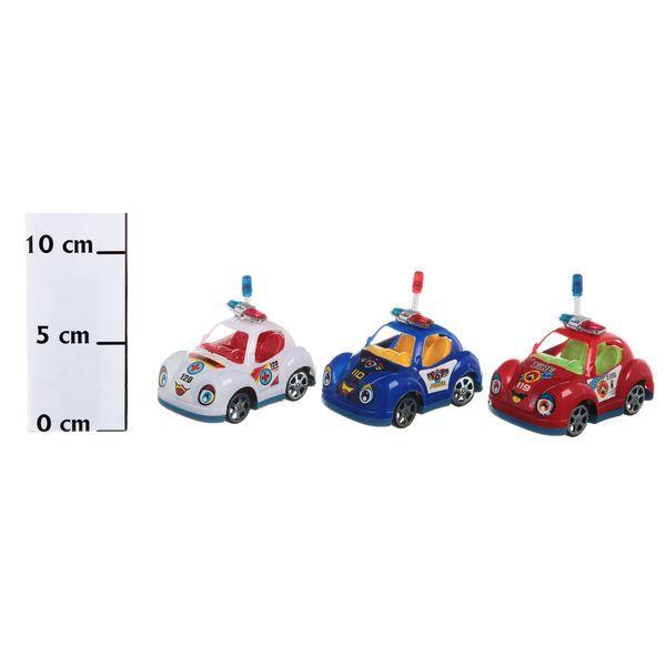 Тарзан, Набор машинок Merry Compact Car 3 шт. в ассортименте, Shantou Gepai, Спецслужбы  - купить со скидкой