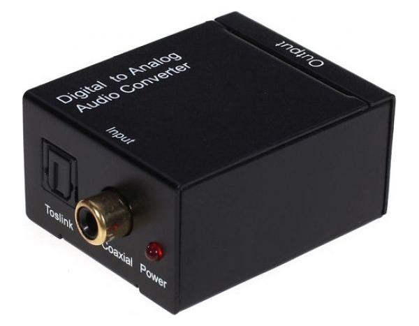 ЦАП Vconn Coaxial+S/PDIF to AV CA210 Black