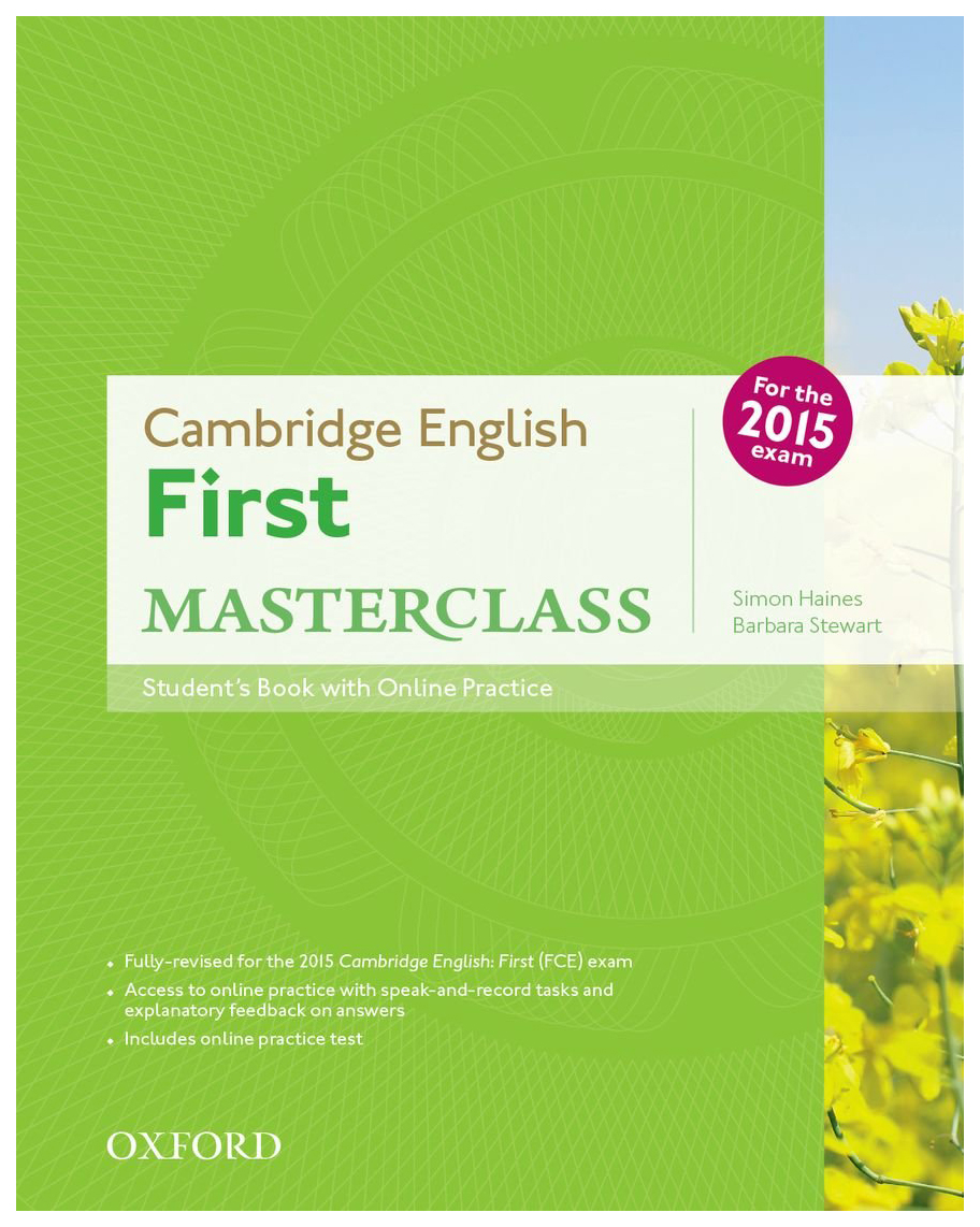 Cambridge English: First Masterclass: Student\'s Book and Online Practice Pack