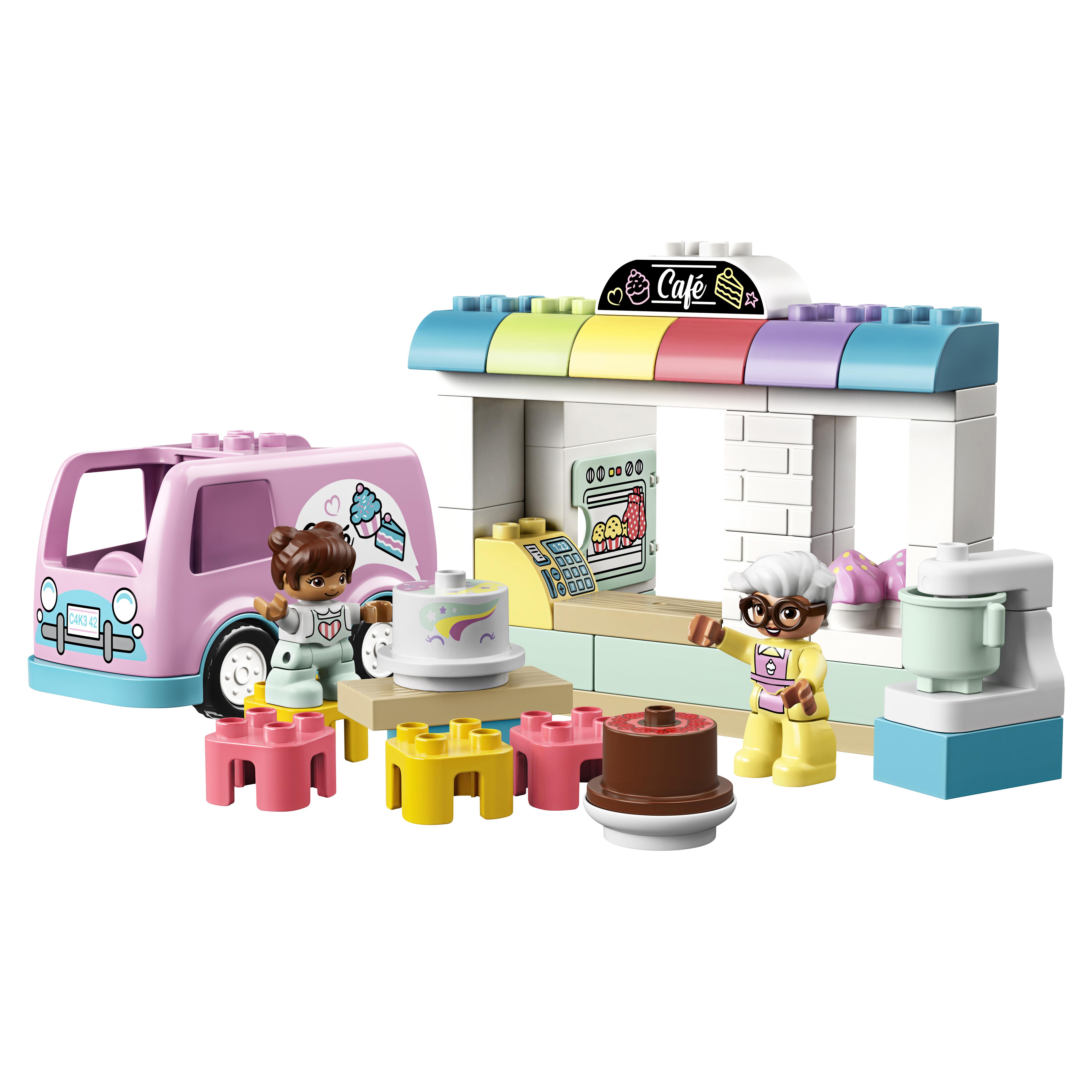 Конструктор LEGO DUPLO Town 10928 Пекарня