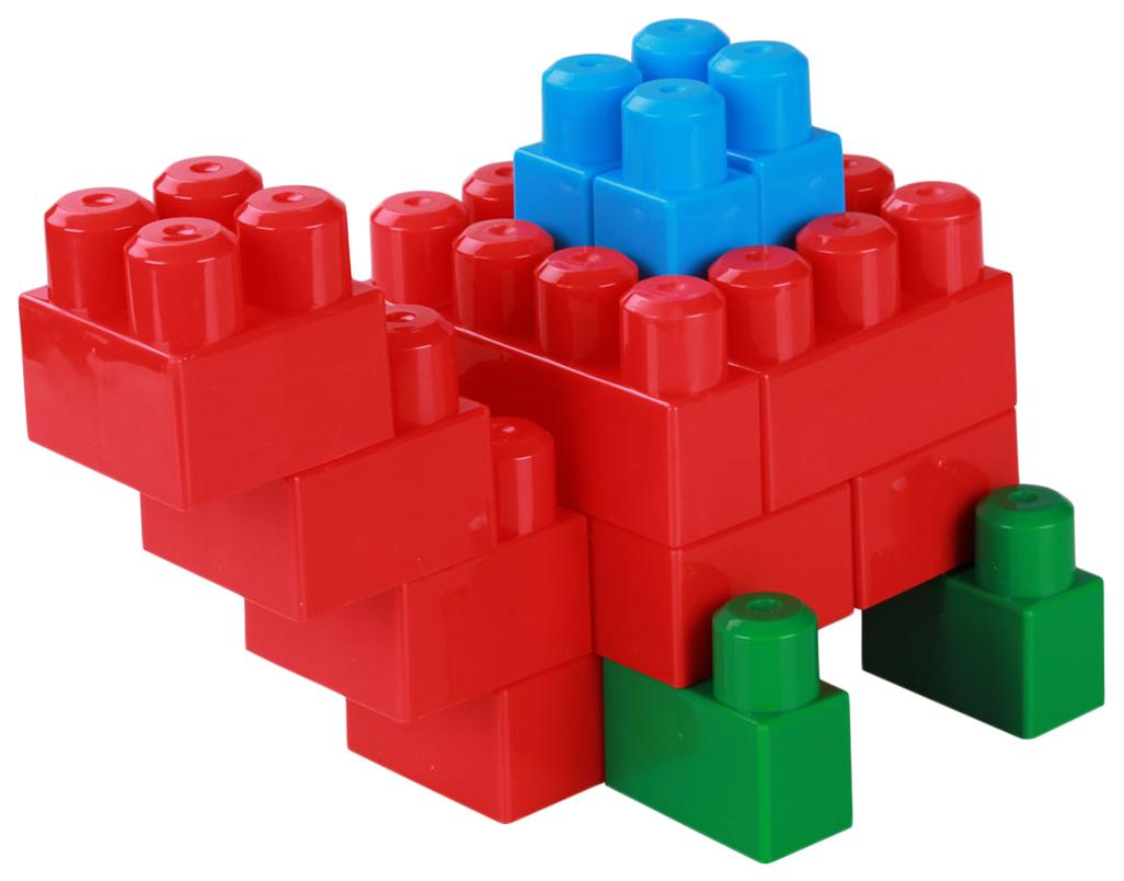 Конструктор детский (большой), в контейнере, 115 деталей