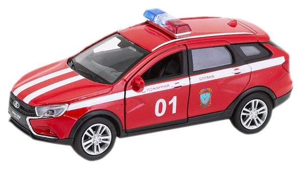 Купить Welly 43763FS Велли Модель машины 1:34-39 LADA VESTA SW CROSS Пожарная охрана, NoBrand, Коллекционные модели
