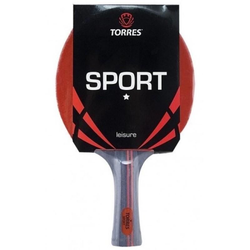 Ракетка для настольного тенниса Torres Sport 1, Любительский TT0005 фото