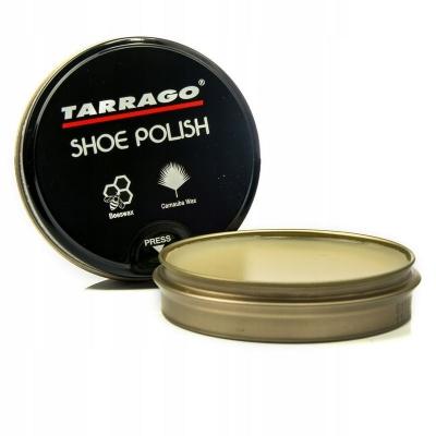 Крем банка полировочная паста для обуви Tarrago