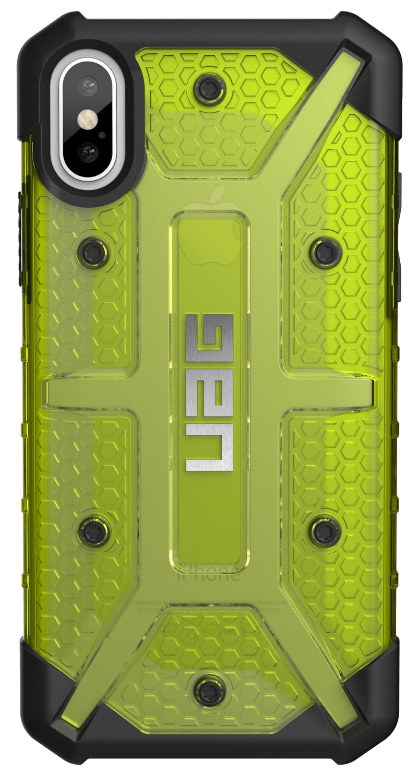 Чехол UAG Plasma Citron для Apple iPhone X