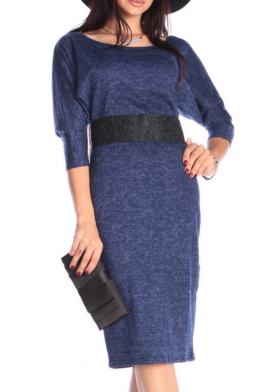 Платье женское Rebecca Tatti RR460_81AS_1AS синее S
