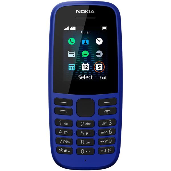 Мобильный телефон Nokia 105SS ТА-1203 Blue фото