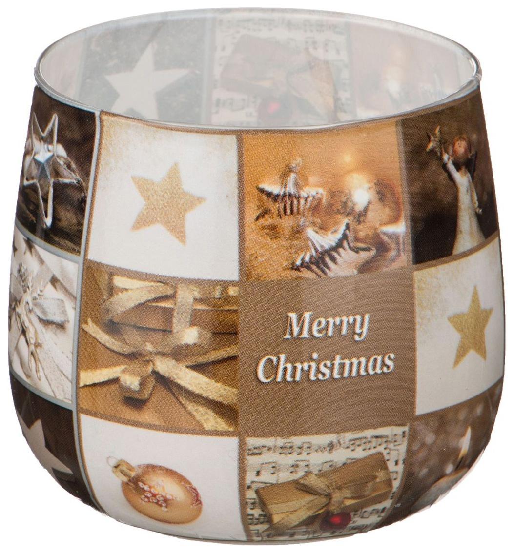 Свеча Adpal 348-437 Merry christmas фото