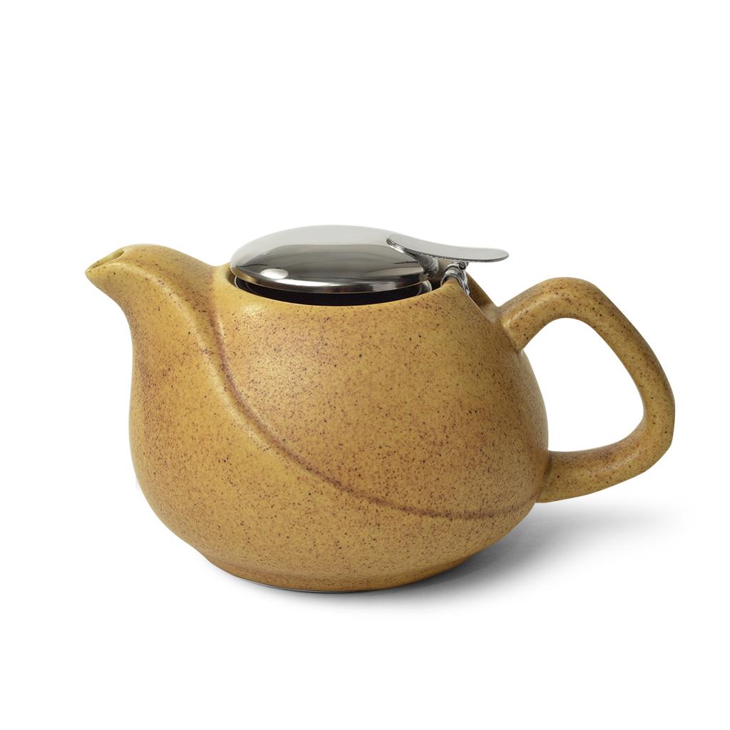 Заварочный чайник Fissman 750 мл песочный 9377