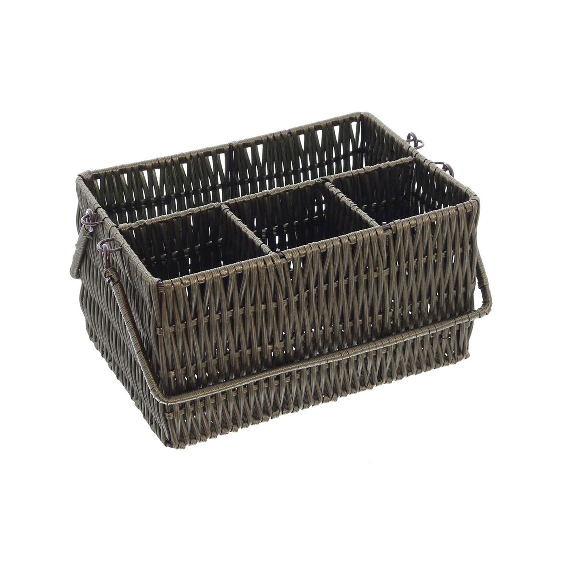 Подставка-корзинка для столовых приборов 'Натур' (02753)