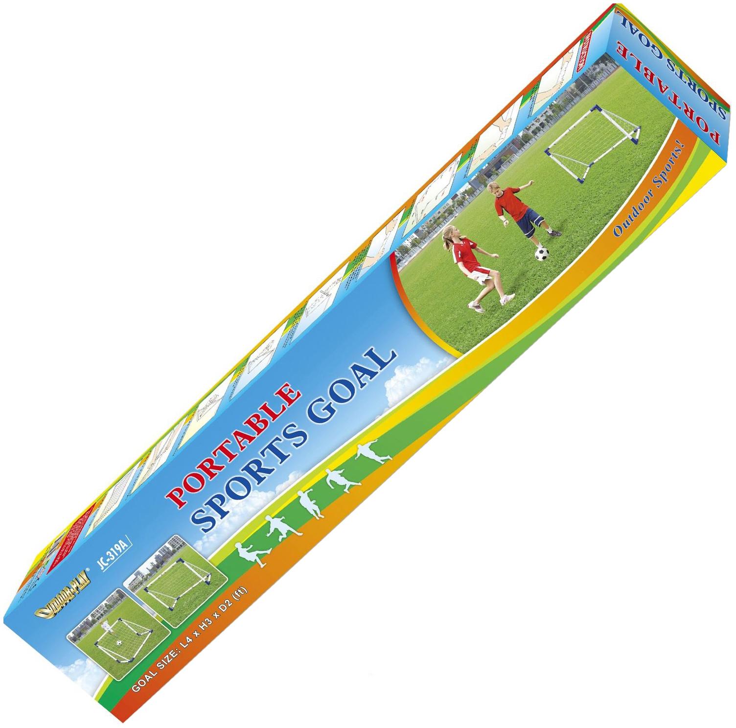 Ворота игровые DFC Portable Soccer 4ft GOAL319A