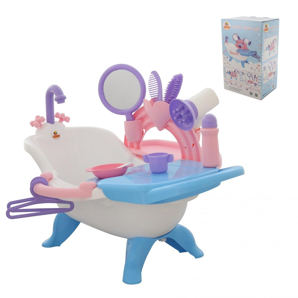 Купить Набор для купания кукол №2 с аксессуарами в коробке Coloma Y Pastor 58607_PLS,