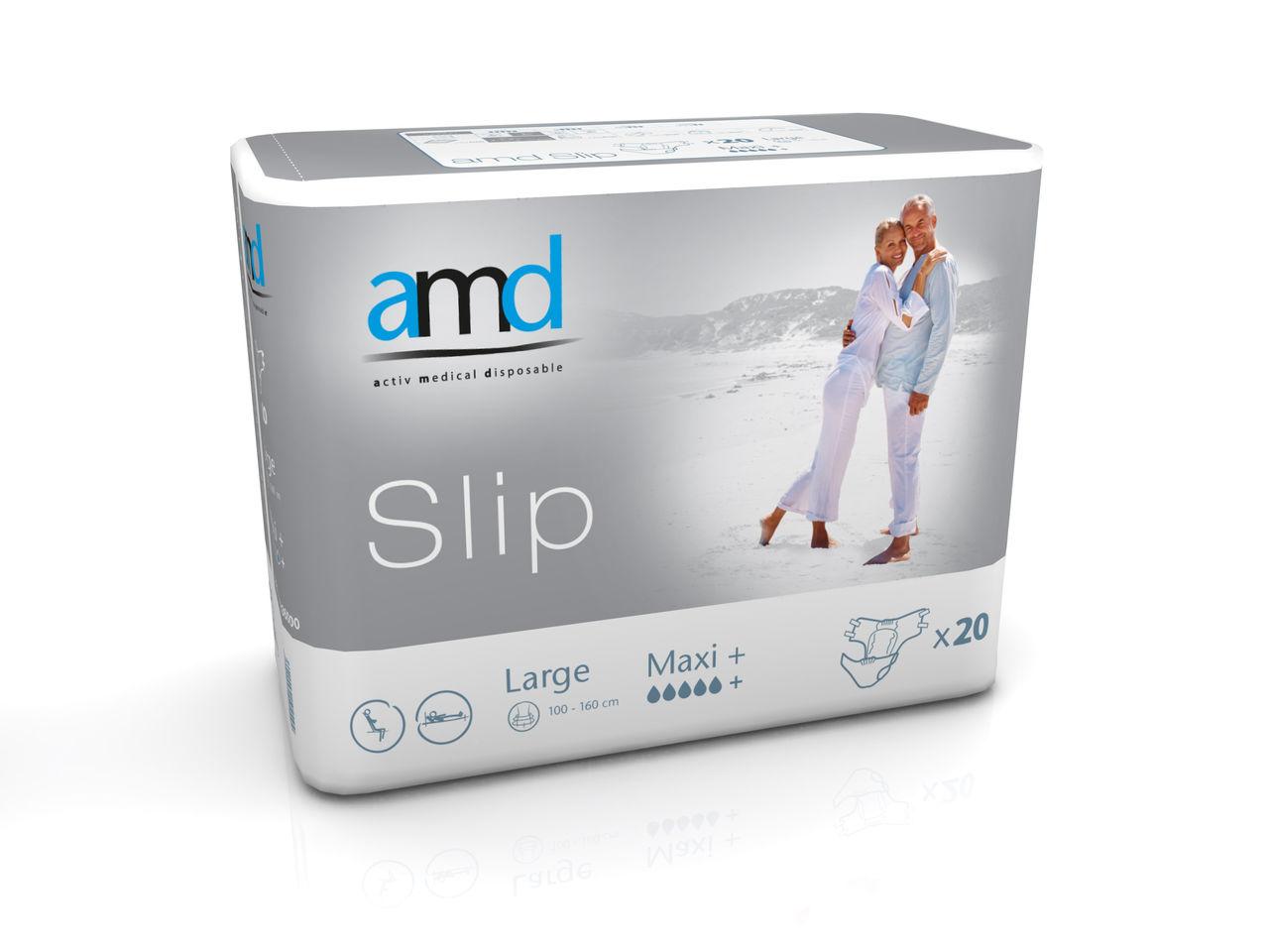 Купить Maxi+, Подгузники для взрослых AMD Slip MAXI + L 20 шт.