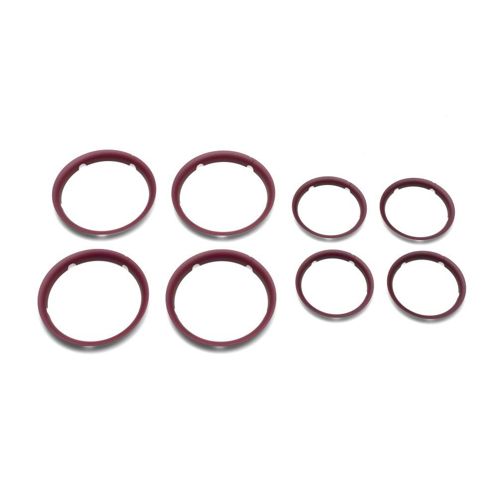 Купить Колпаки BUGABOO Fox для колес dark red, Комплектующие для колясок