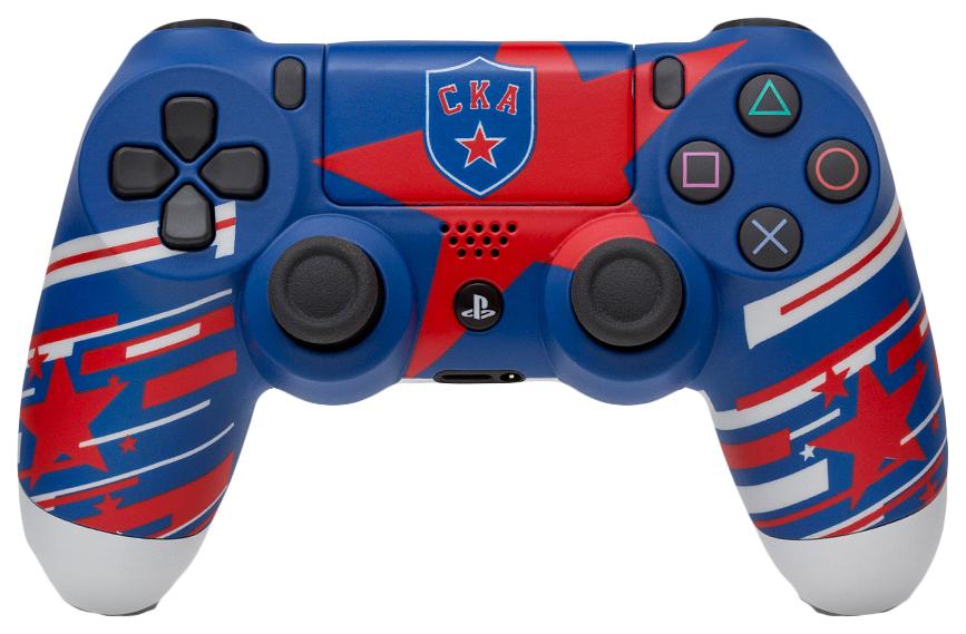 "Геймпад Sony PlayStation DualShock 4 CUH-ZCT2E КХЛ ""СКА Нева"" 93187"