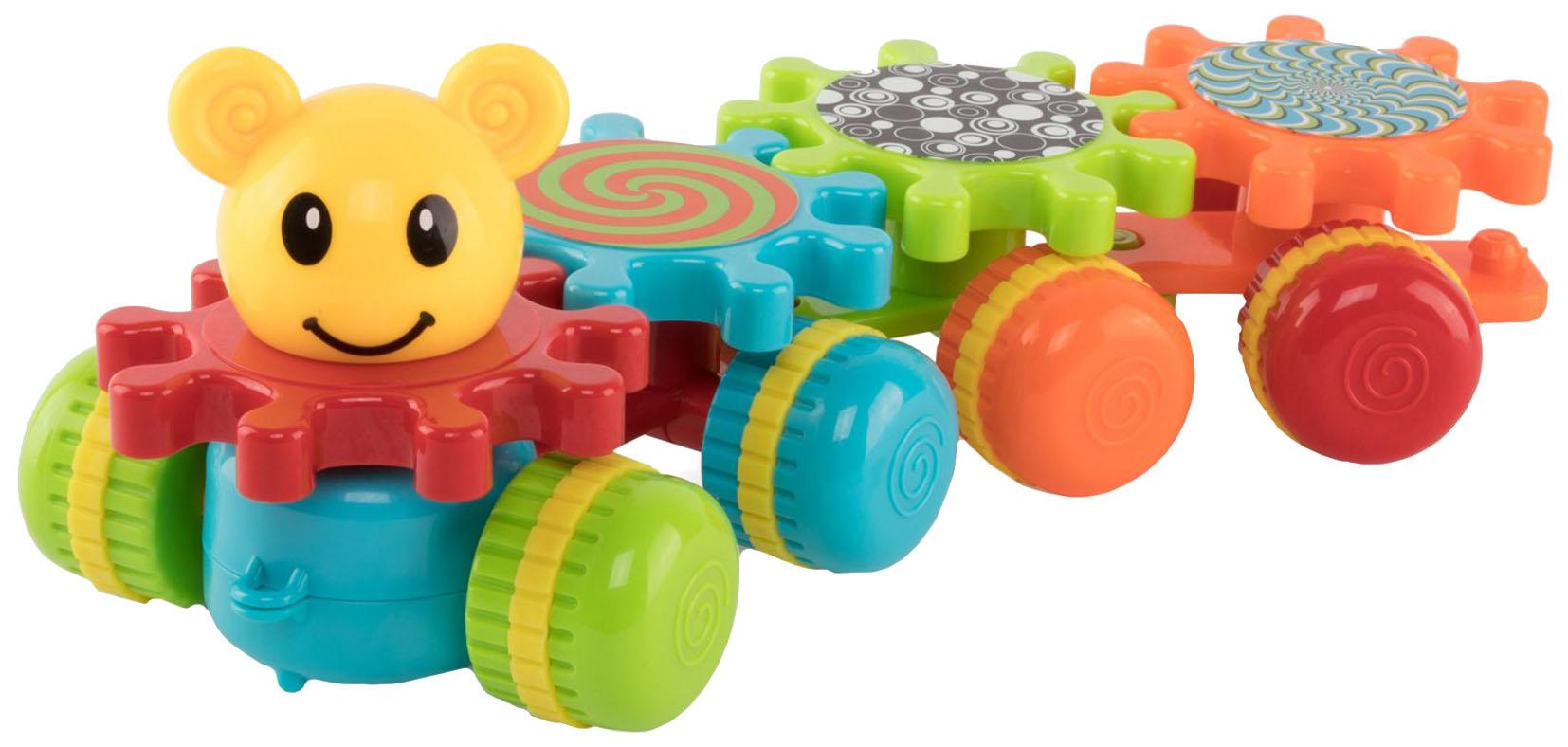 Купить Развивающая игрушка Happy baby Mechanix Train 330903, Интерактивные развивающие игрушки