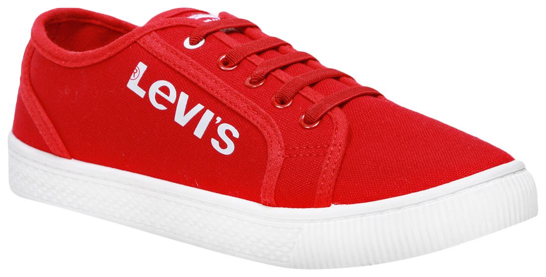 Купить 56288, Кеды Levi's Kids red 36 размер, Детские кеды