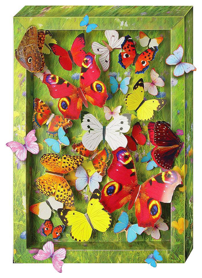 Купить Поделка Clever Взлетающие бабочки 40 деталей, Рукоделие