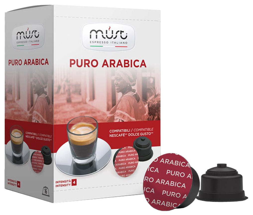 Кофе в капсулах Must puro arabica 16 капсул