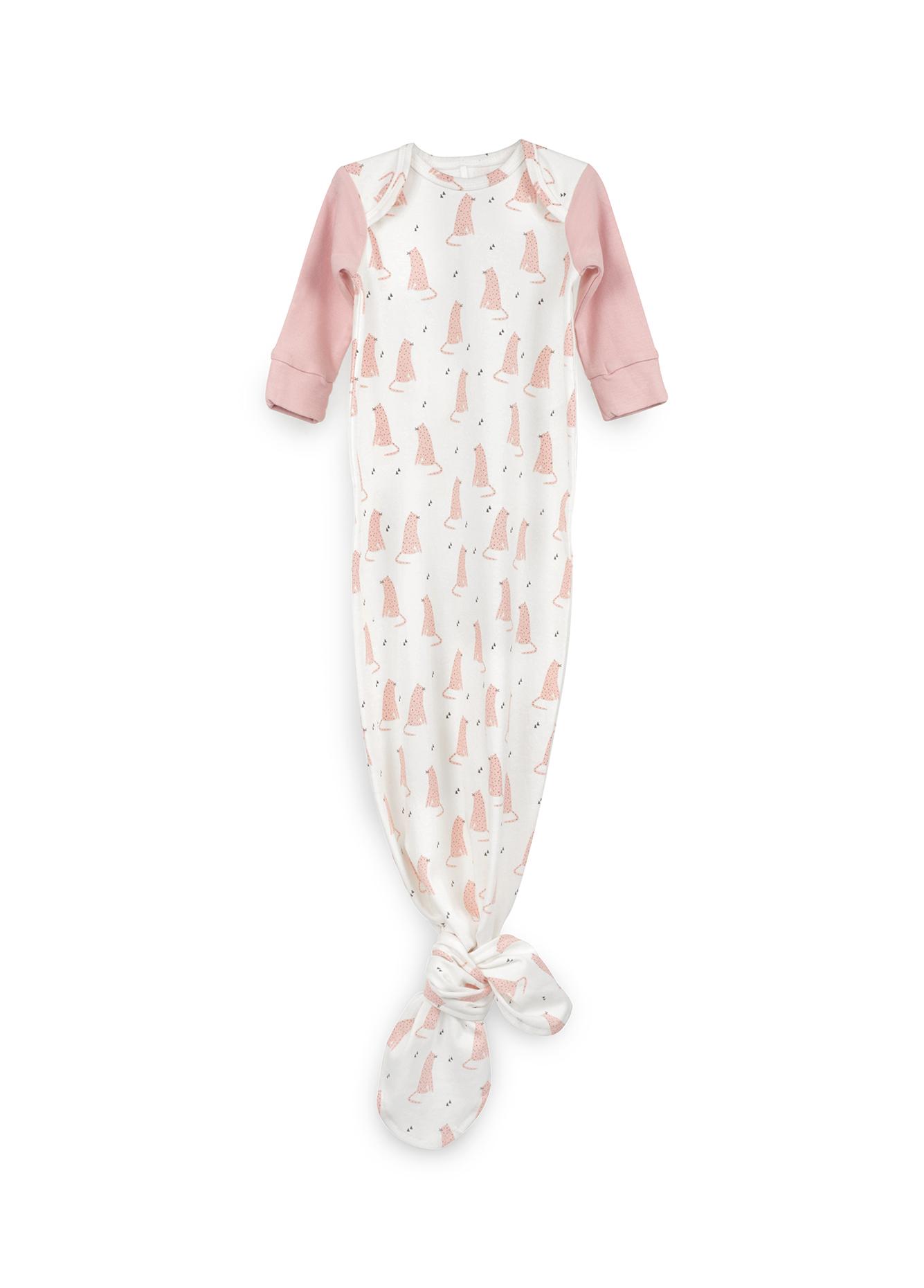 Боди-пеленка Happy Baby с длинным рукавом Pink фото