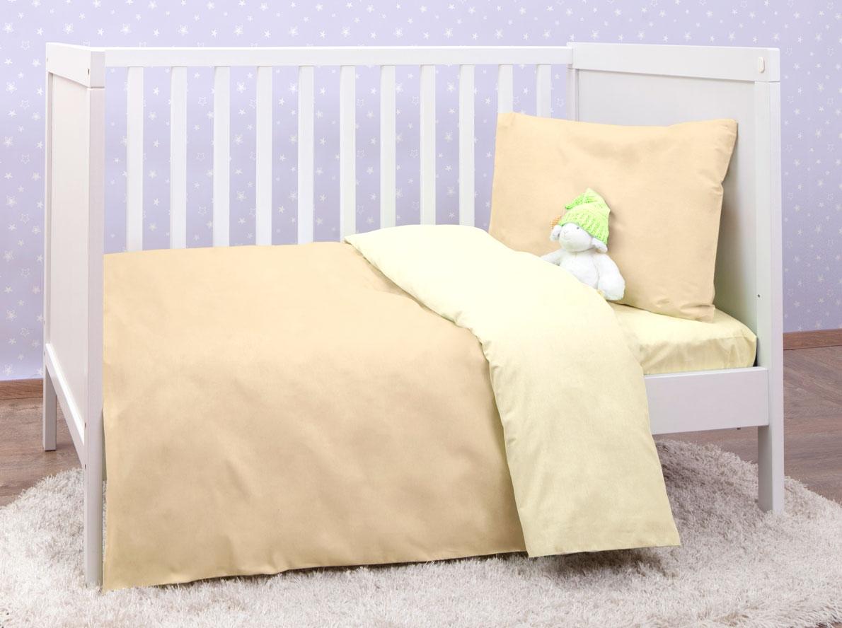 Комплект в кроватку Mirarossi Barney 3 пр. бежевый простыня на резинке Mirarossi «Barney» 3 пр. бежевый простыня на резинке по цене 920