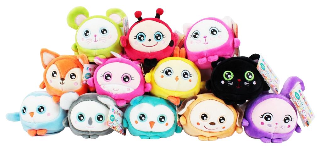 Купить Мягкая игрушка-антистресс 1Toy Squishimals 10 см, 1 TOY, Мягкие игрушки антистресс