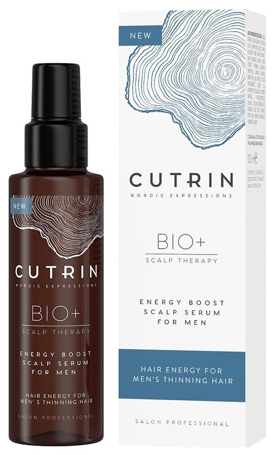 Сыворотка Cutrin Bio+ Energy Boost Scalp Serum