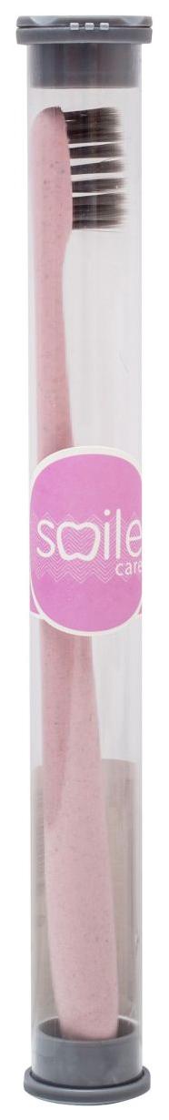 Зубная щетка Smile Care Bio Pink Мягкая