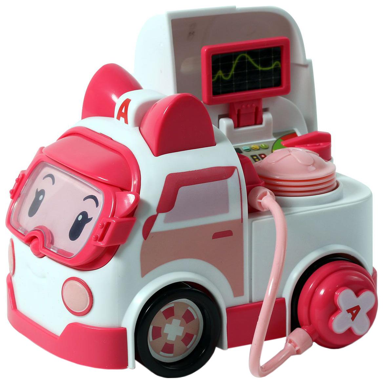 Машинка пластиковая Robocar Poli Эмбер с аксессуарами