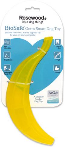 Жевательная игрушка для собак Rosewood Fruits Toy Банан, желтый, 23 см