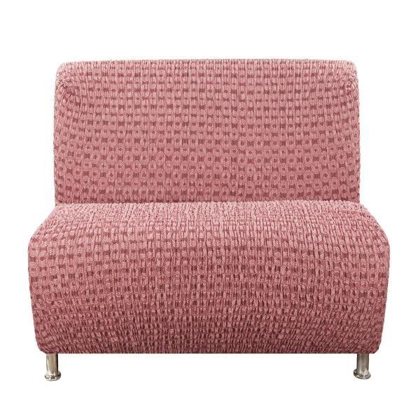 Чехол на кресло Еврочехол Сиена Сатурно бордовый