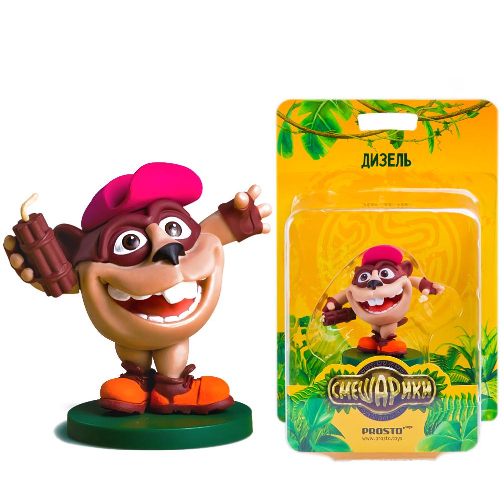 Купить Коллекционная игрушка Prosto Toys Смешарики. Легенда о Золотом Драконе Дизель, Игровые наборы