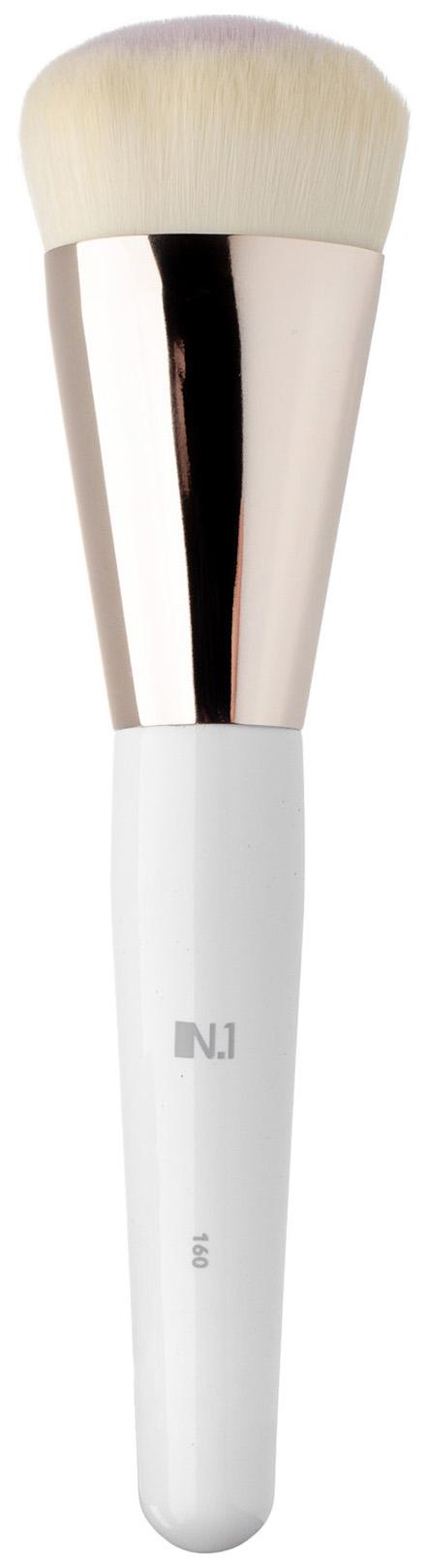 Кисть для макияжа N.1 Округлая для контуринга лица из ворса таклон №160