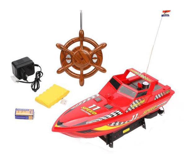 Купить Радиоуправляемый катер Наша игрушка 4 канала MX-0006-31, Радиоуправляемые катера