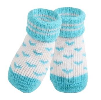 Носочки для собак Puppia ANGEL HEART голубые