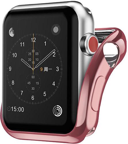 Чехол InterStep для Apple Watch 40mm Pink