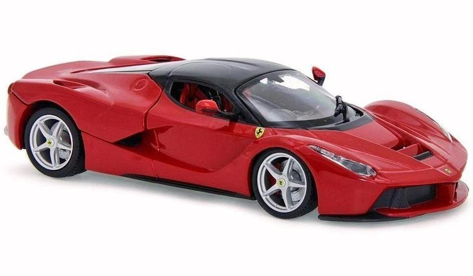Купить Машинка Maisto сборная, красная - Ferrari LaFerrari 1:24, Коллекционные модели
