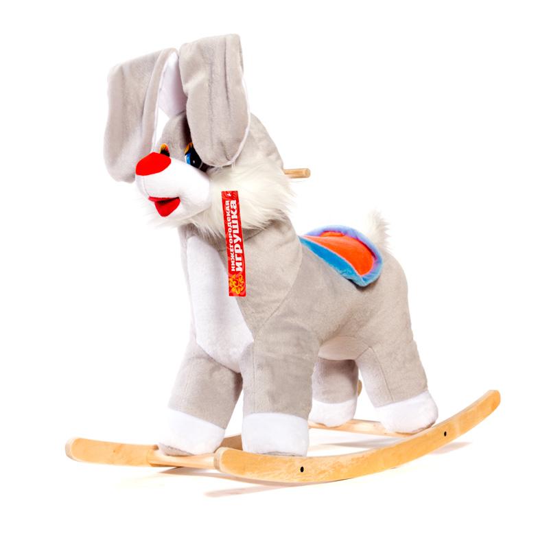 картинка Качалка детская Нижегородская игрушка Заяц См-750-4Зц от магазина Bebikam.ru