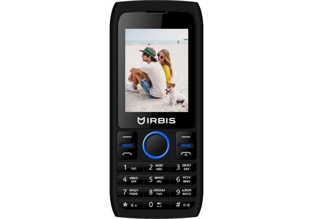 Мобильный телефон Irbis SF54x Black/Blue