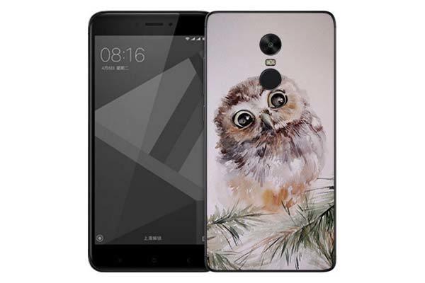 Чехол Gosso Cases для Xiaomi Redmi Note 4X «Совенок»