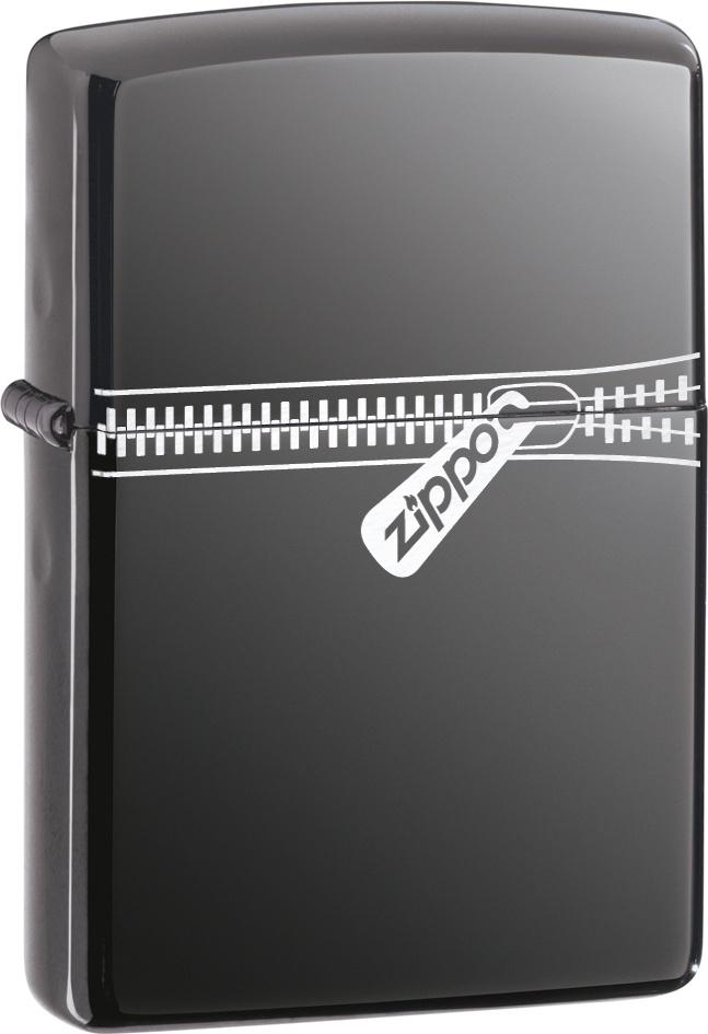 Бензиновая зажигалка Zippo №21088 Black Ice