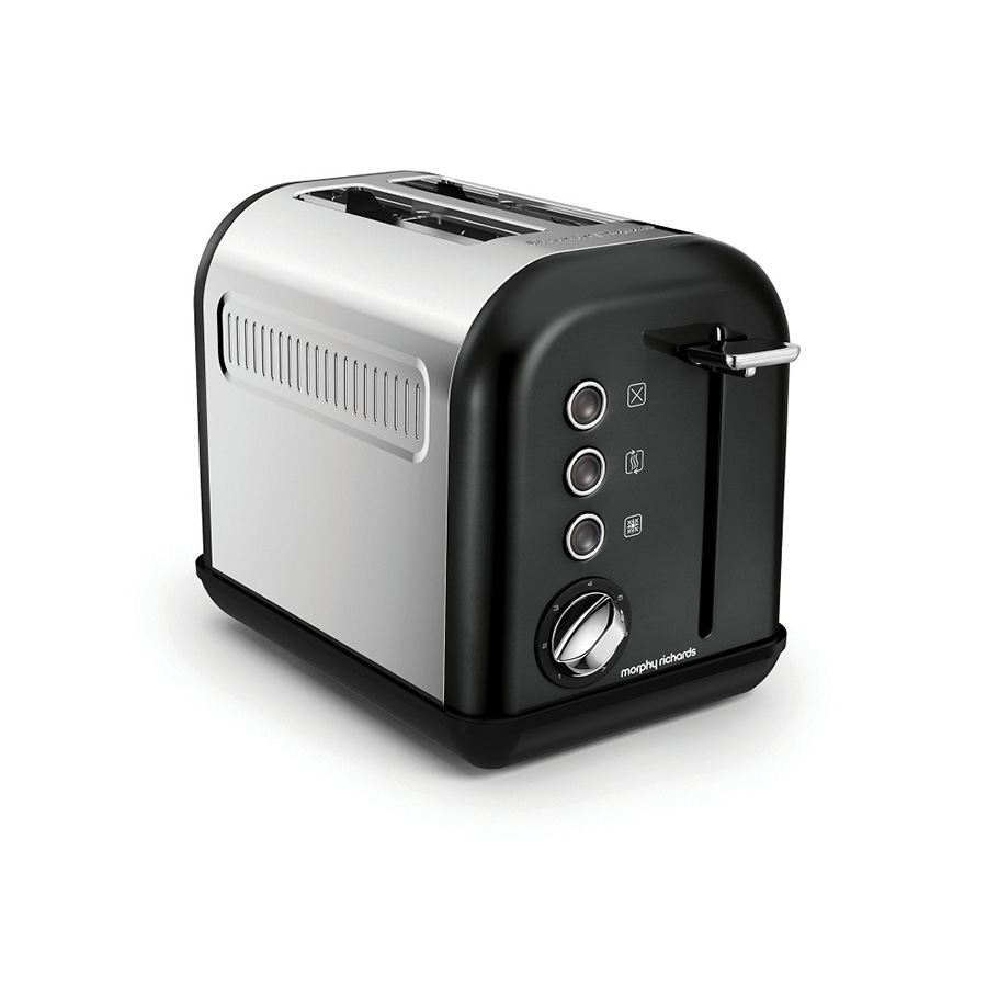 Тостер Morphy Richards Accents Toaster Black