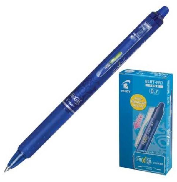 Ручка стираемая гелевая автоматическая PILOT \