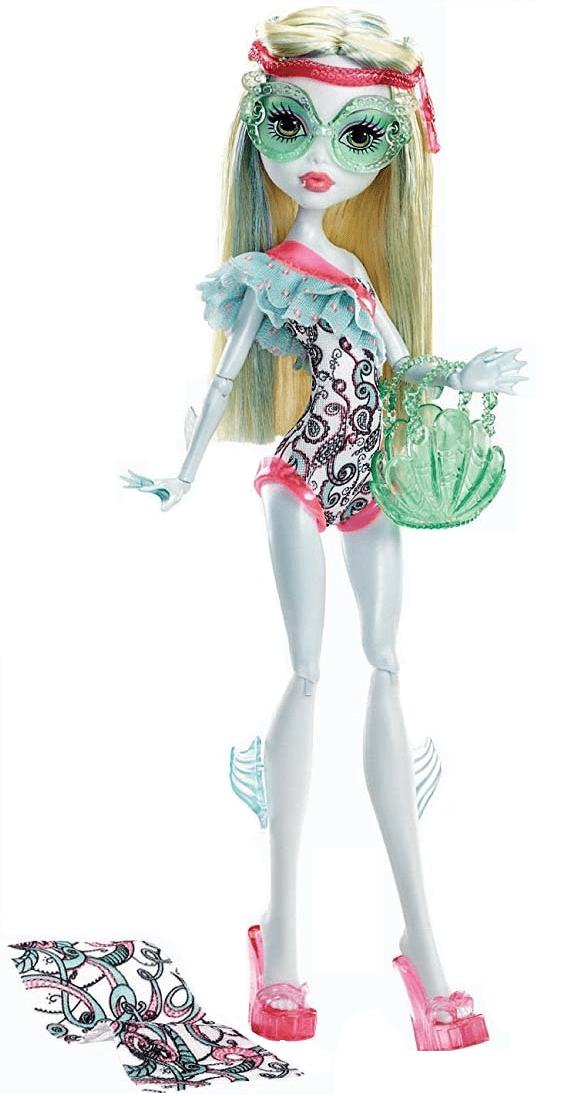 Купить Кукла Monster High Лагуна Блю - Монстры в купальниках Y7305, Куклы Monster High