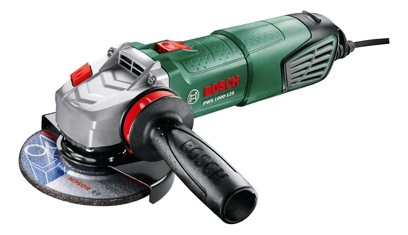 Сетевая угловая шлифовальная машина Bosch PWS 1000-125 06033A2620